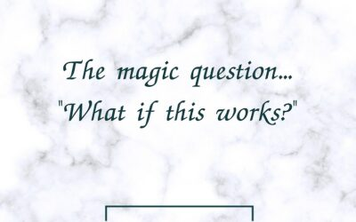The #1 Question That Can Change Your Life